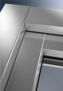 Profilo serramento in alluminio